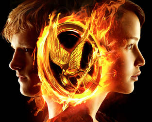 The Hunger Games. Katniss and Peeta by StalkerAE
