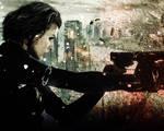 Resident Evil: Retribution. Wallpaper