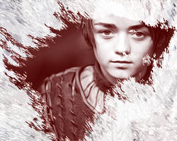 Game of Thrones. Arya Stark by StalkerAE
