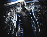 The Amazing Spider-Man. Wallpaper. Blue