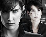 The Avengers. Collage. Maria Hill 2.