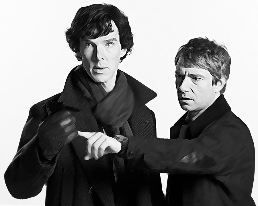 Sherlock and John by StalkerAE