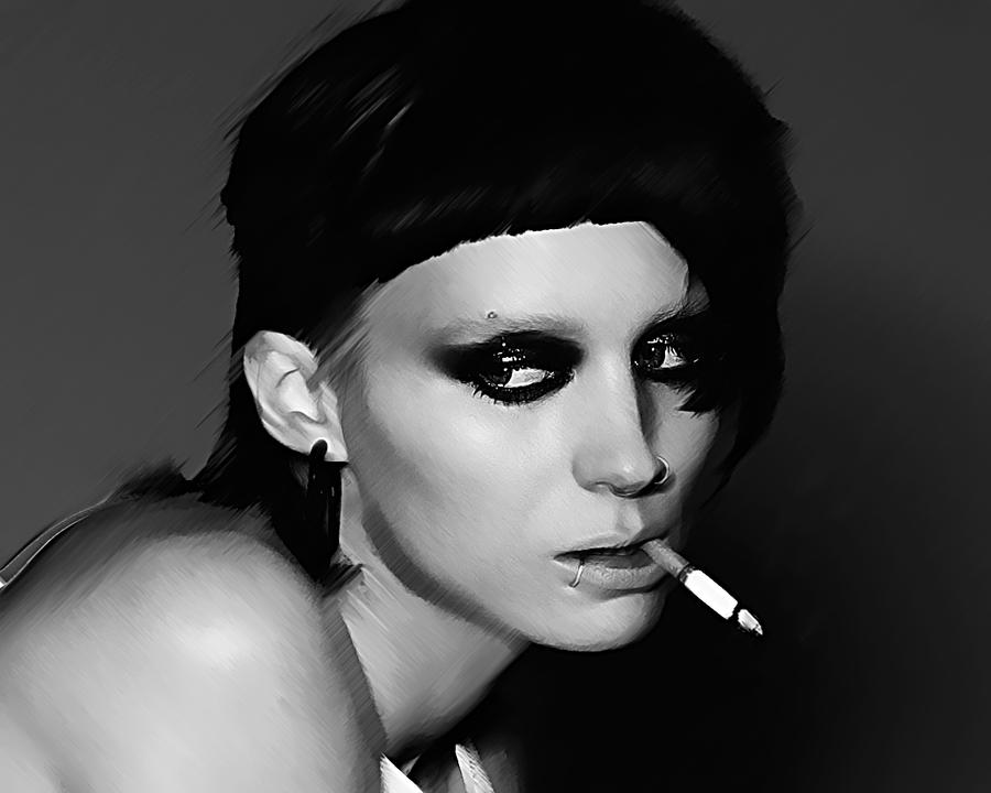 Rooney mara the girl with the dragon tattoo 2 by for The girl with the dragon tattoo