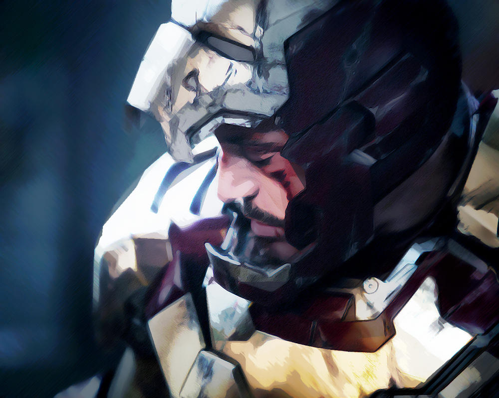 Tony Stark. Broken by StalkerAE