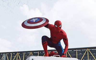 Spider-man. Civil war by StalkerAE