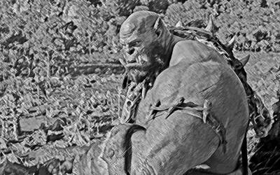 Warcraft. Orgrim by StalkerAE