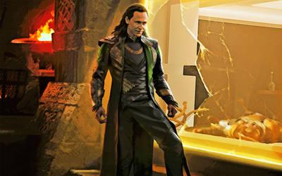 Loki. Thor 2. by StalkerAE