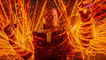 Thanos. Avengers. Infinity war