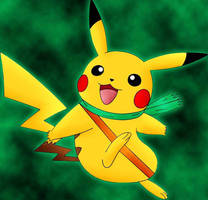 Sparky The Pikachu by DarkrexS