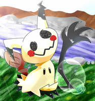 Mimikyu Wants To Have Fun by DarkrexS