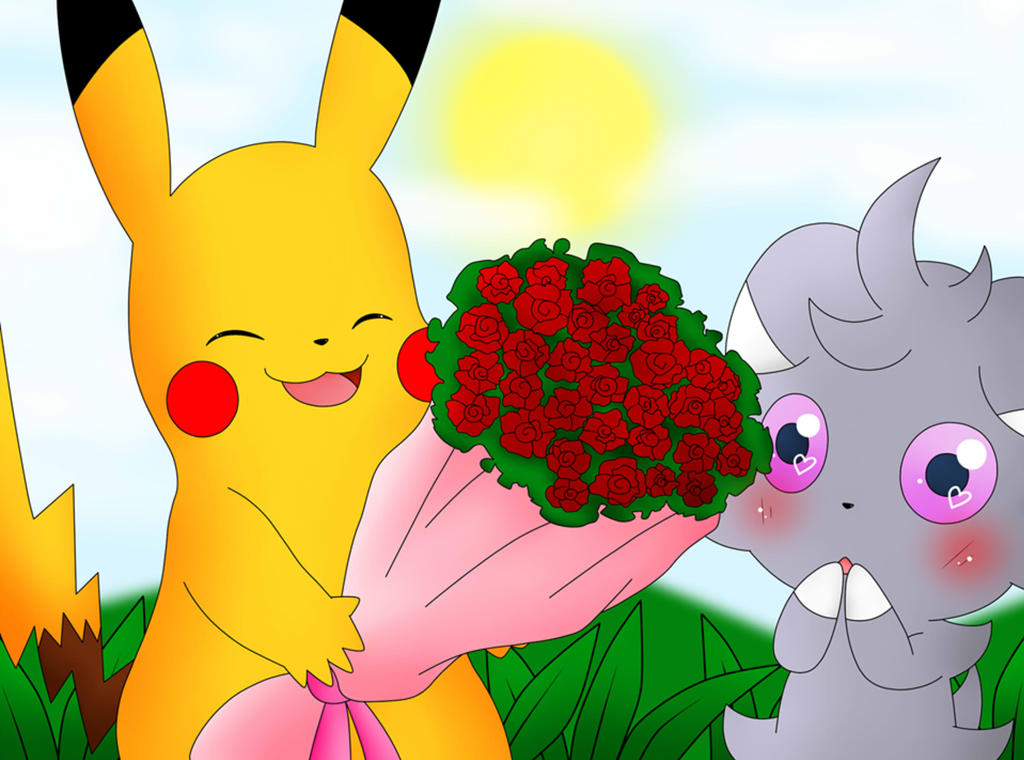 Flowers For My Kitty by DarkrexS