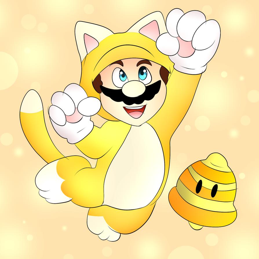 Cat Mario - Super Mario 3D World by DarkrexS