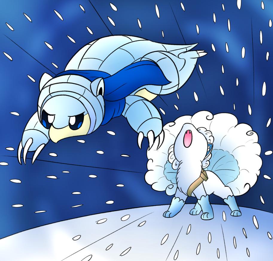 Winter Team by DarkrexS