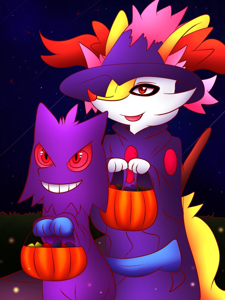 Happy Halloween by DarkrexS