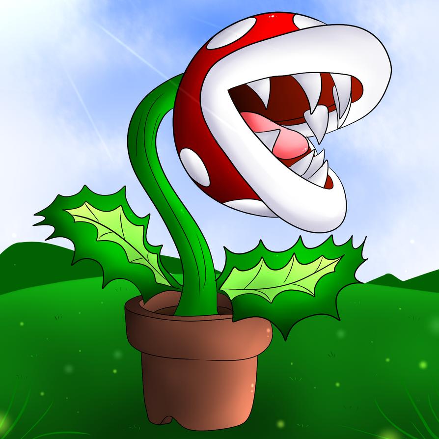 Piranha Plant by DarkrexS