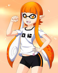 Inkling Girl by DarkrexS