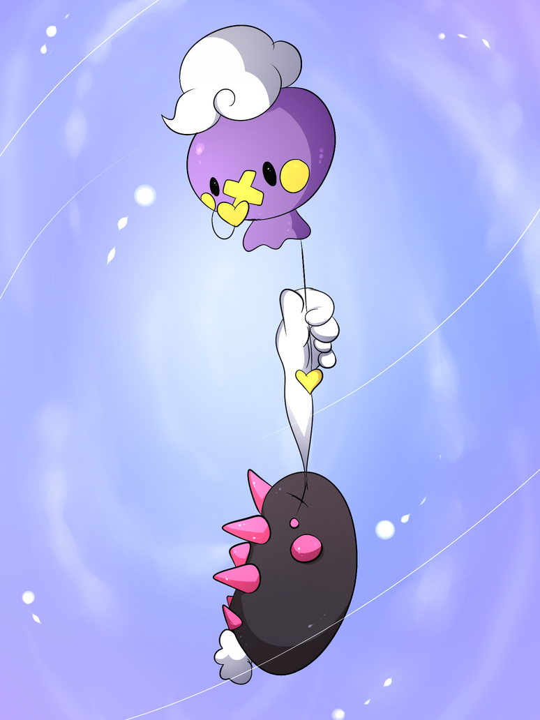 My Balloon Friend by DarkrexS