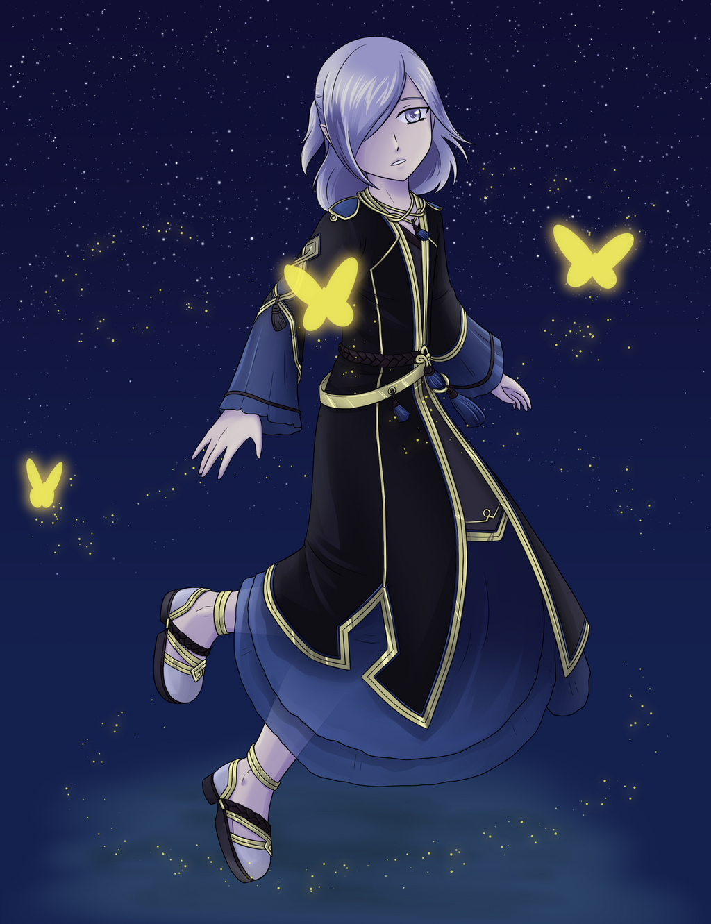 Stars and Butterflies by TerminusLucis