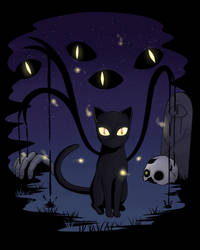 Black cat by TerminusLucis