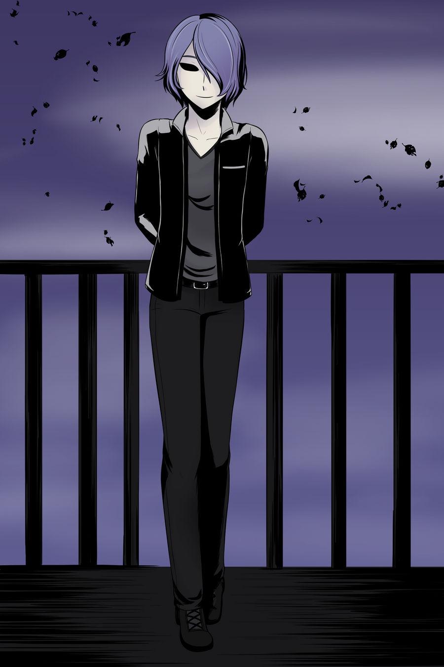 Black-eyed boy