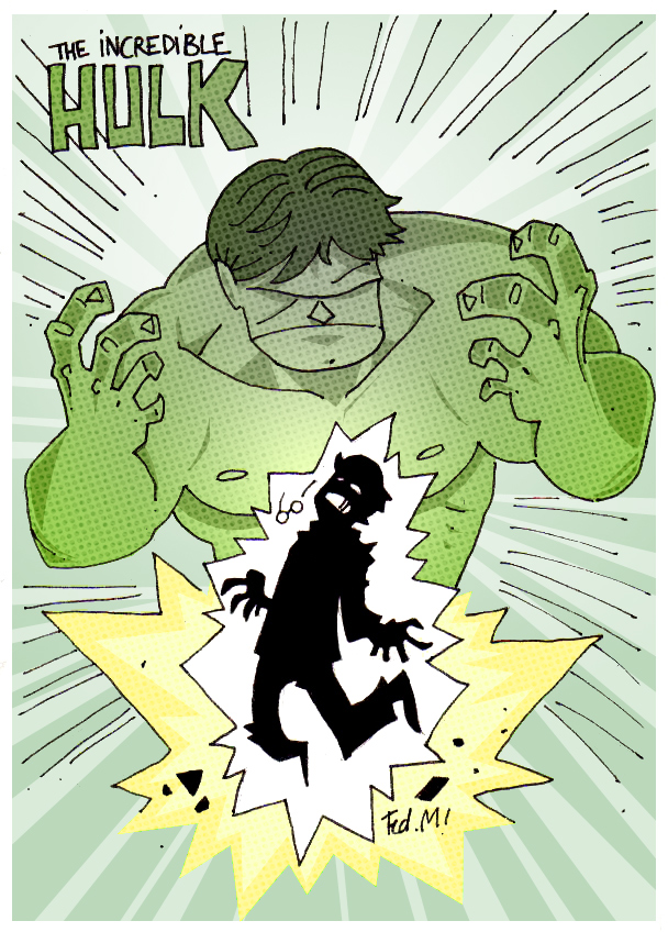 HULK CRUSHES by Lapsus-de-Fed