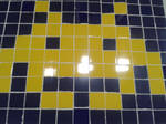 Space invaders pixelart by PiXelYz