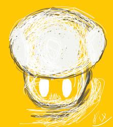 Mushroom sketch by PiXelYz