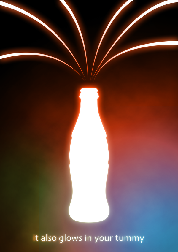 Coke Glow by SeoxyS