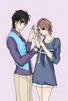 83.Spiral-Kyoko y Ren by AliNavGo