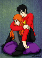 Red Fixation 12. Harry n Ginny by AliNavGo