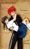 Red Fixation 23.Sakura n Rinne by AliNavGo