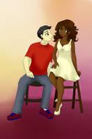 Since you came-Frank y Hazel by AliNavGo