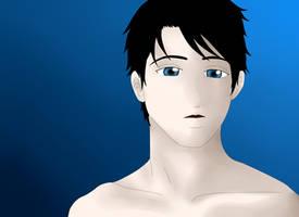 He's blue by AliNavGo