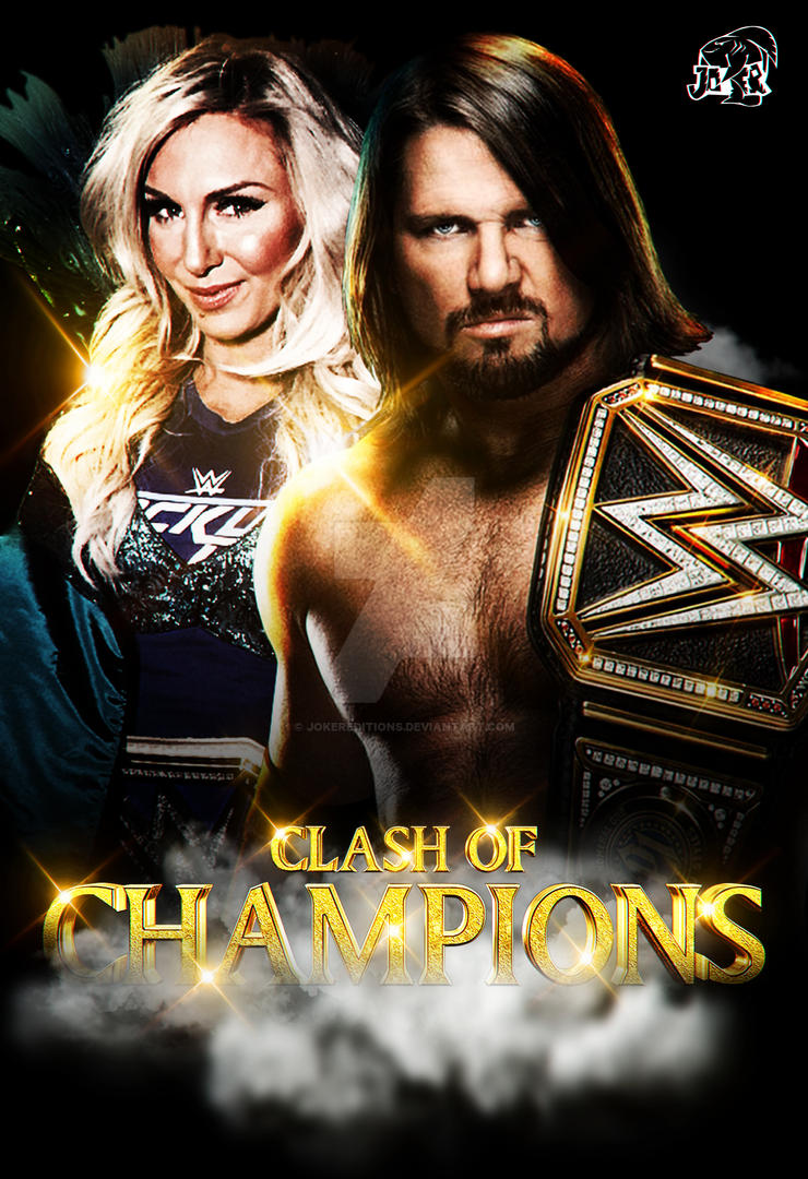 cc5c67ac8e601 Clash Of Champions 2017 Custom Poster by JokerEditions on DeviantArt