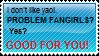 Anti YAOI stamp by JaniceTheFurry