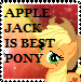 Applejack is best pony by JaniceTheFurry