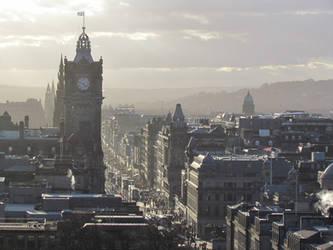 A walk in Edinburgh by samugtr
