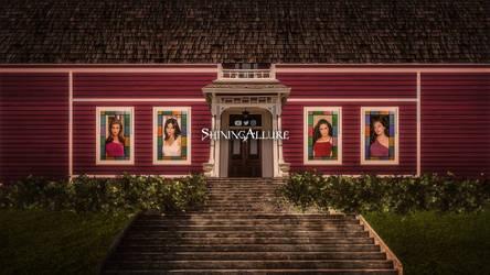 Charmed Manor Wallpaper
