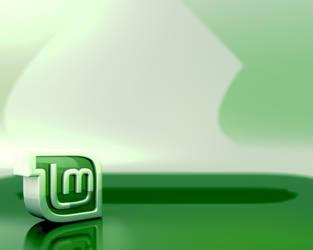 LinuxMint 3D Refractions_5:4 by Le-Narcissique