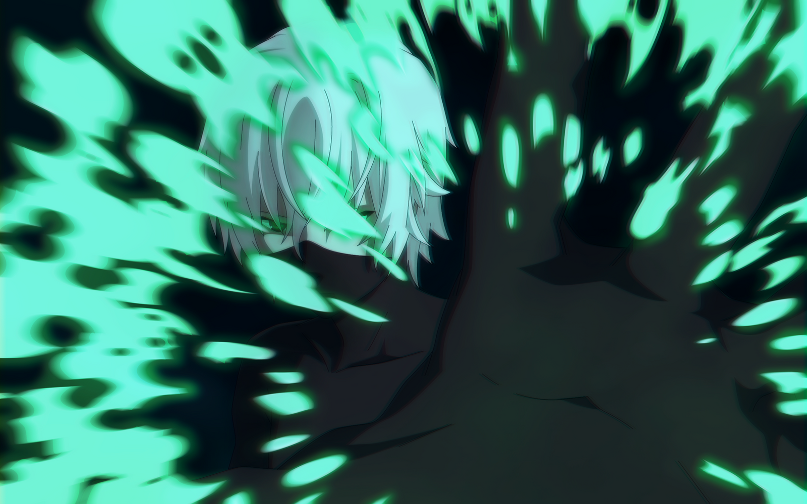 Dark Phantom [Danny Phantom | Anime] by sgcassidy