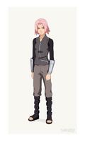 Serious Sakura (Naruto   Character Design)