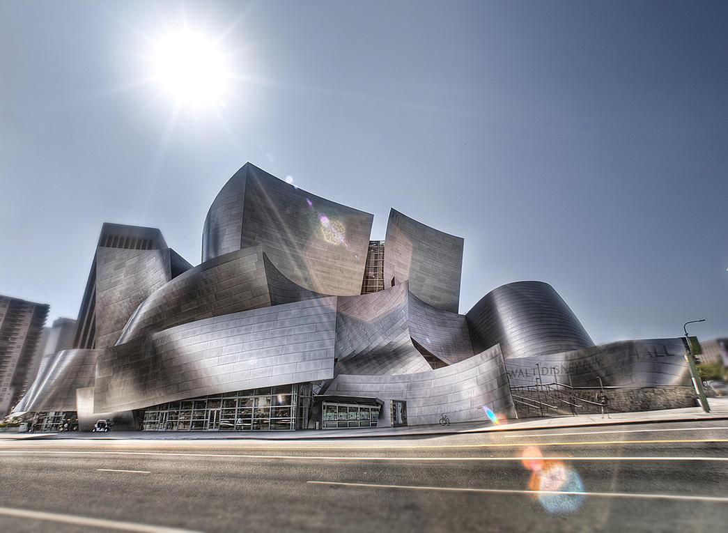 Walt Disney Concert Hall HDRI by Dilznacka