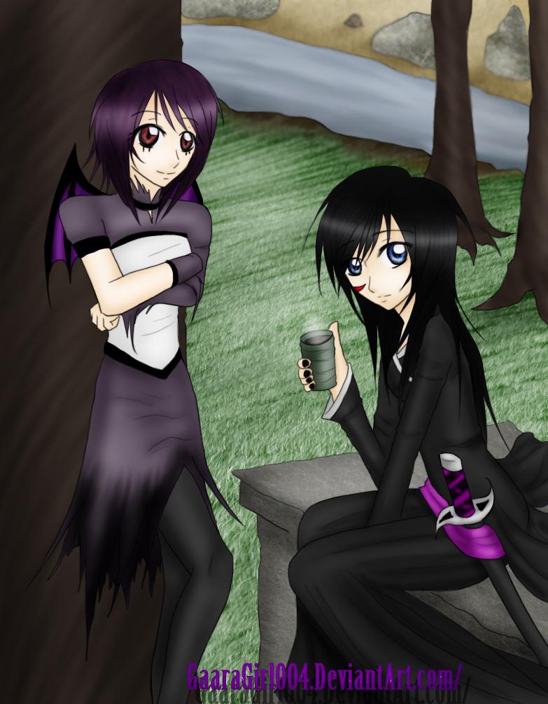Shi Ryu and Kanika Yuhi by KanikaYuhiFTOC