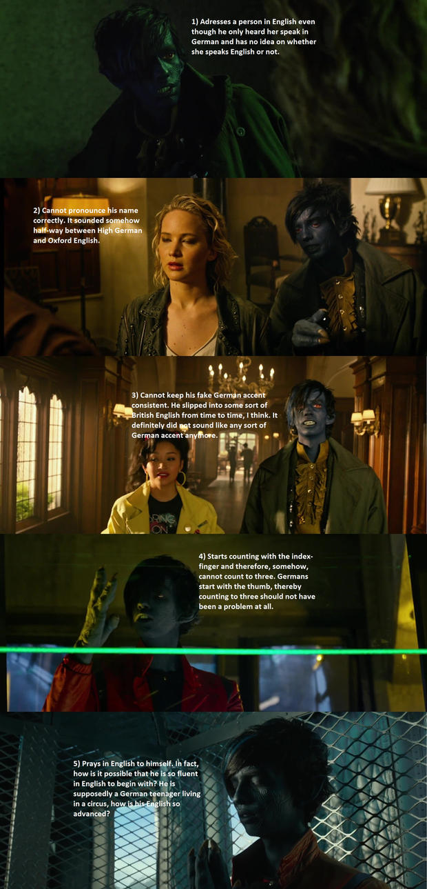Why Nightcrawler is not a German by Asanbonsam