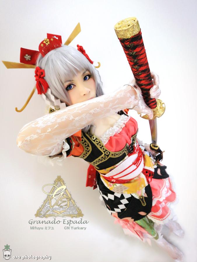 Photoshoot - Granado Espada Mifuyu 1 by osamaujunk
