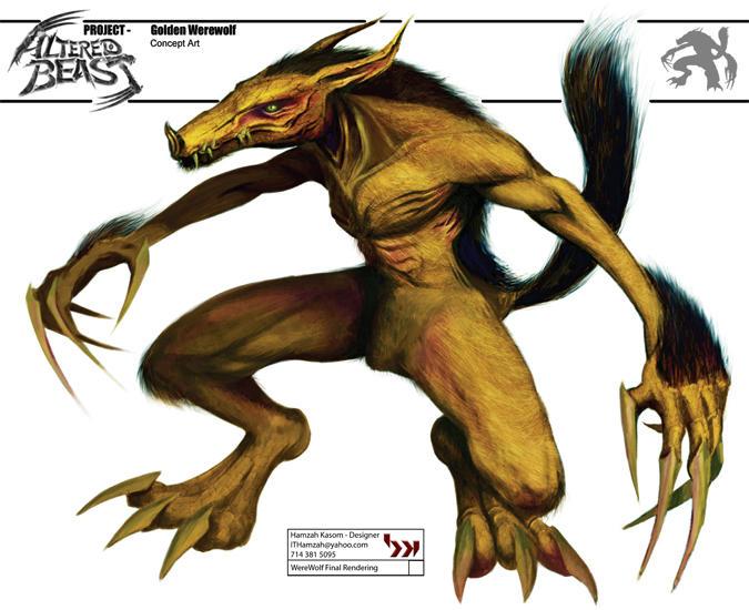 Skinny Werewolf by CoCoaKnutZ