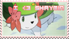 Stamp : I love Shaymin by kaifcsl