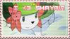 Stamp : I love Shaymin
