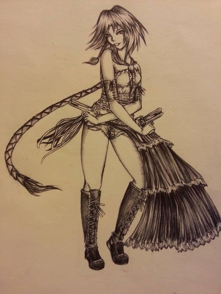 Gunner Yuna by CloakedSchemer-VI