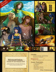 Nusantara: Legend of The Winged Ones FULL VER! by SweetChiel